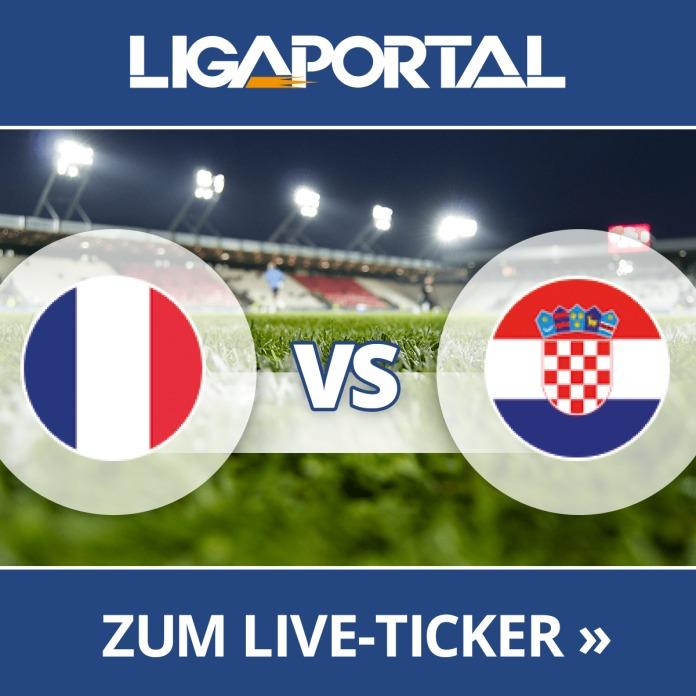 Frankreich Kroatien Schiedsrichter