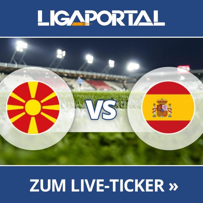 Spanien Mazedonien Live